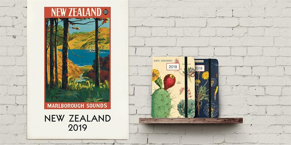 2019 calendars diaries