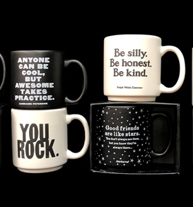 Cool new Mini Espresso Mugs from Quotable