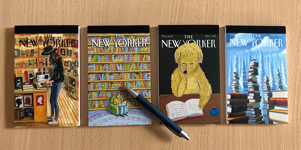 The New Yorker Notepads
