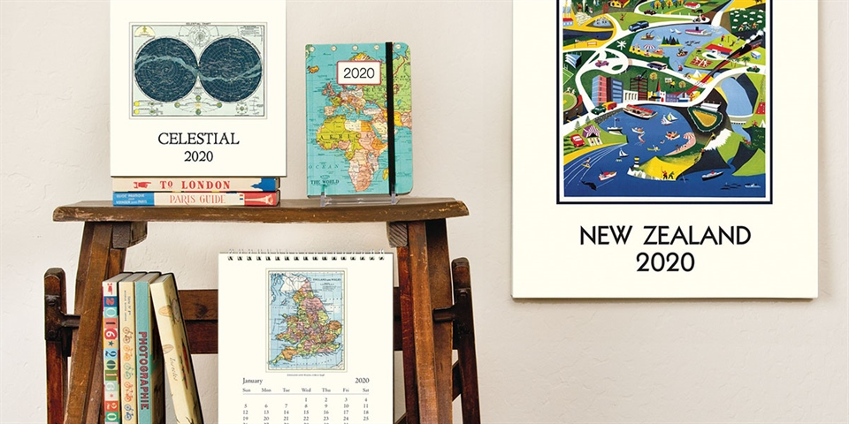 2020 Calendars & Diaries – Something for everyone!